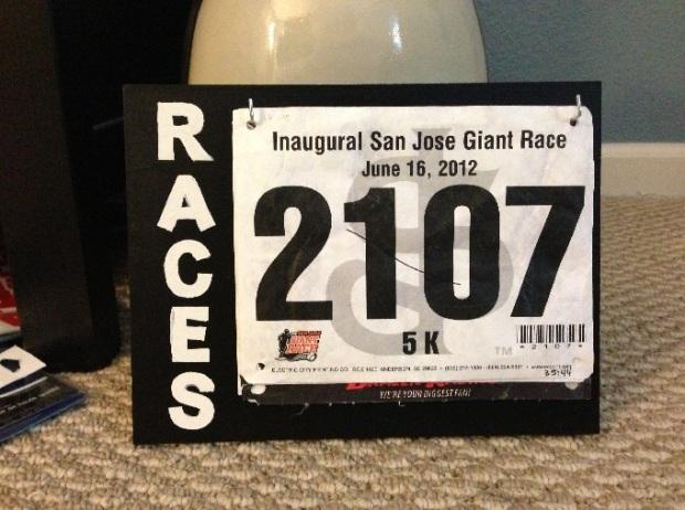 race bib display